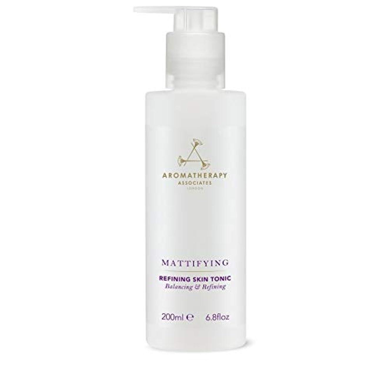 対角線士気上流の[Aromatherapy Associates ] アロマセラピーアソシエイツ精錬皮膚の強壮剤、アロマセラピーアソシエイツ - Aromatherapy Associates Refining Skin Tonic,...