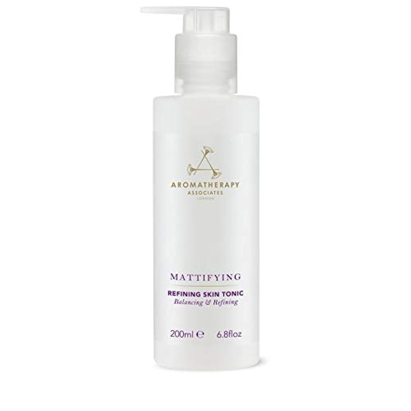 芽ショート下線[Aromatherapy Associates ] アロマセラピーアソシエイツ精錬皮膚の強壮剤、アロマセラピーアソシエイツ - Aromatherapy Associates Refining Skin Tonic,...