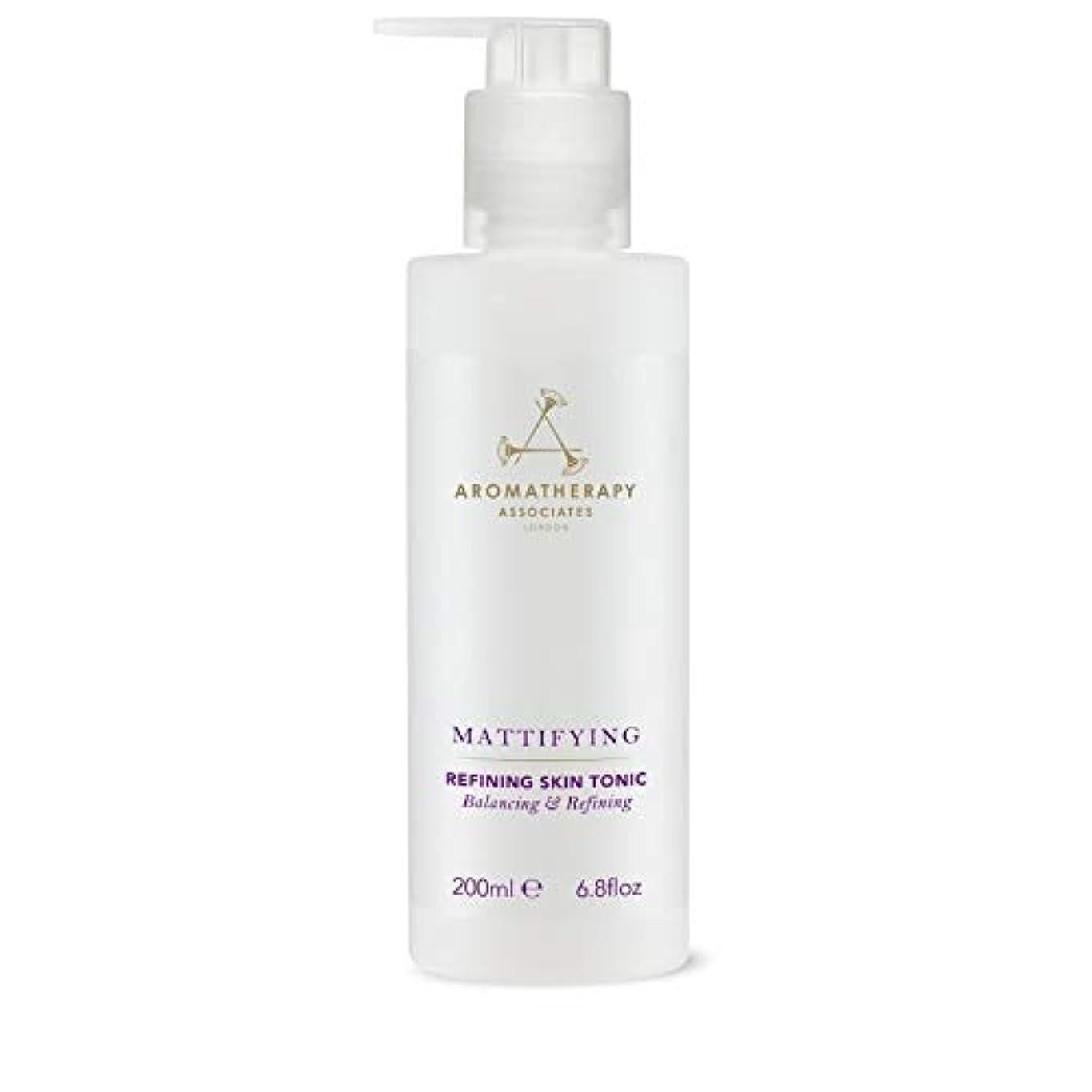 自動化請うバンジージャンプ[Aromatherapy Associates ] アロマセラピーアソシエイツ精錬皮膚の強壮剤、アロマセラピーアソシエイツ - Aromatherapy Associates Refining Skin Tonic,...
