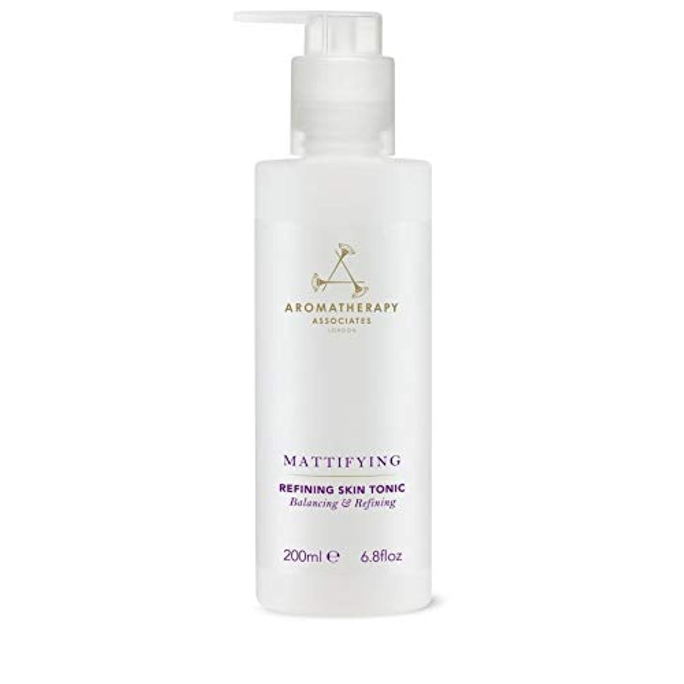 ぴったりプロフェッショナル息苦しい[Aromatherapy Associates ] アロマセラピーアソシエイツ精錬皮膚の強壮剤、アロマセラピーアソシエイツ - Aromatherapy Associates Refining Skin Tonic,...