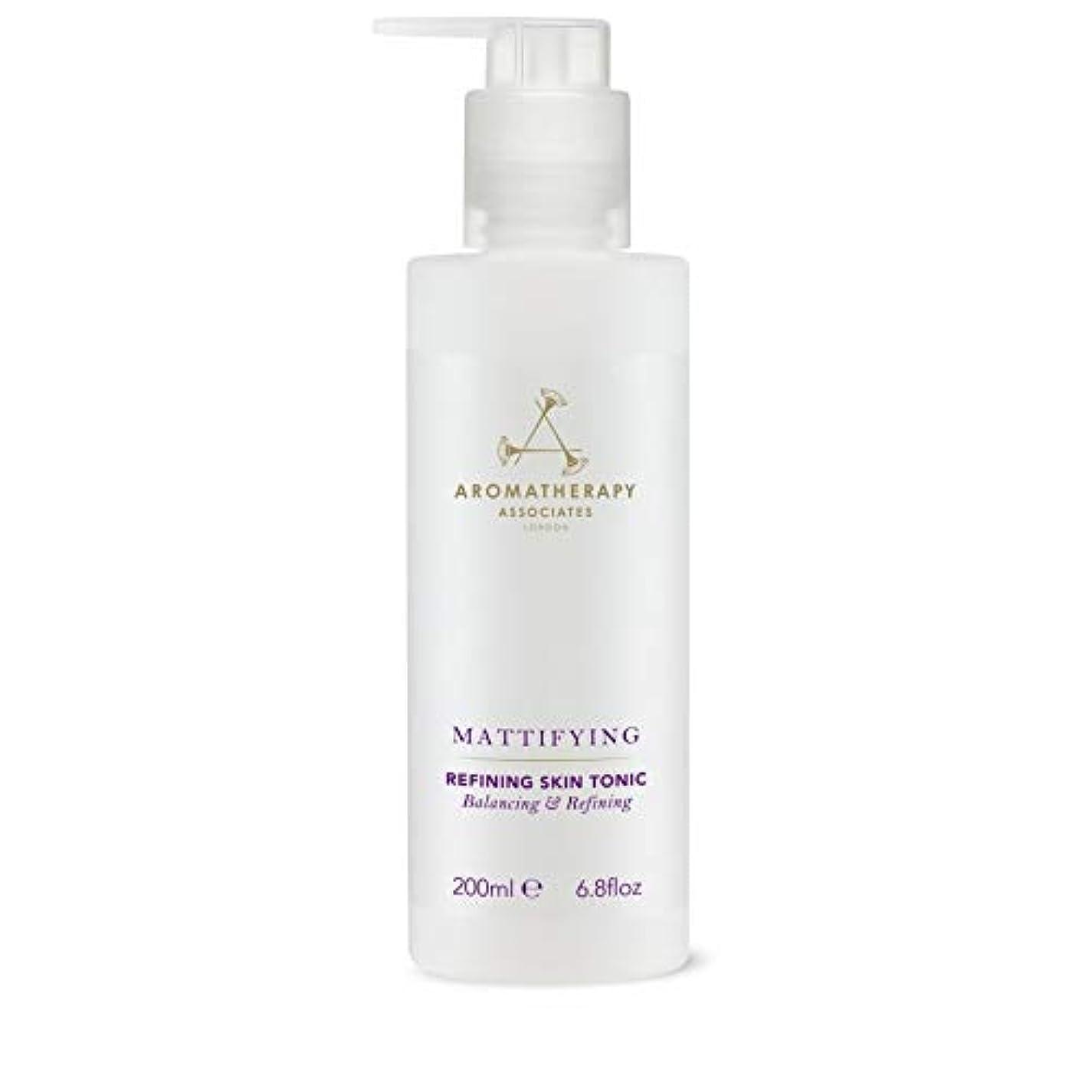 アラーム噛む一節[Aromatherapy Associates ] アロマセラピーアソシエイツ精錬皮膚の強壮剤、アロマセラピーアソシエイツ - Aromatherapy Associates Refining Skin Tonic,...