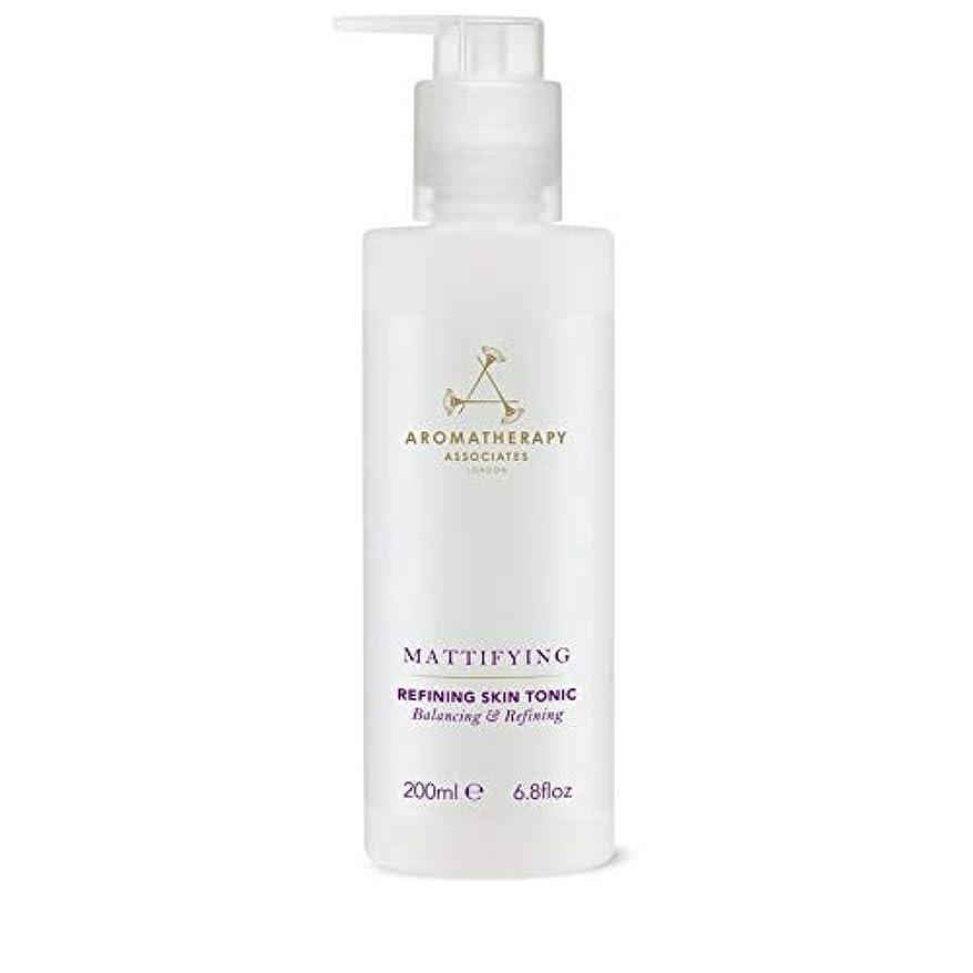 認知マラソン契約した[Aromatherapy Associates ] アロマセラピーアソシエイツ精錬皮膚の強壮剤、アロマセラピーアソシエイツ - Aromatherapy Associates Refining Skin Tonic,...