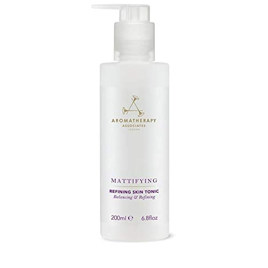 ケージうがい薬苦行[Aromatherapy Associates ] アロマセラピーアソシエイツ精錬皮膚の強壮剤、アロマセラピーアソシエイツ - Aromatherapy Associates Refining Skin Tonic, Aromatherapy Associates [並行輸入品]