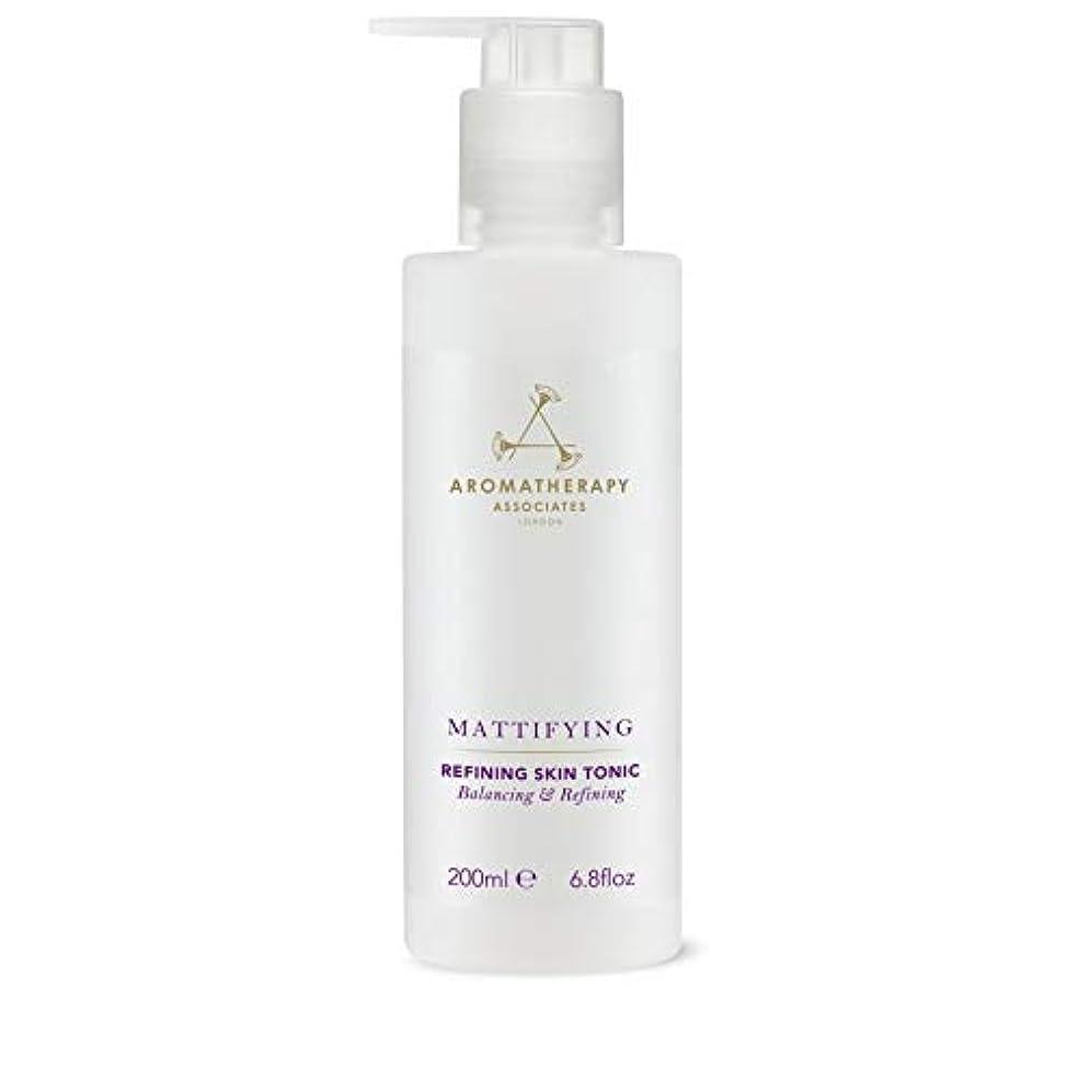 芸術的ホストバンド[Aromatherapy Associates ] アロマセラピーアソシエイツ精錬皮膚の強壮剤、アロマセラピーアソシエイツ - Aromatherapy Associates Refining Skin Tonic,...