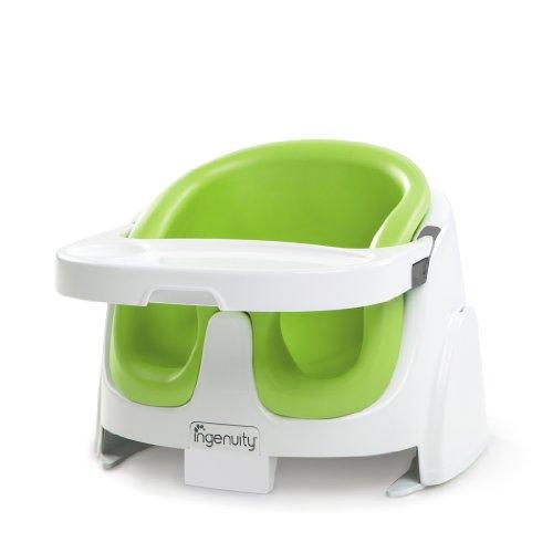 ingenuity インジェニュイティ Baby Base 2-in-1 ベビーベース ベビーソファ ライム 4ヶ月~ (60385) by Kids II