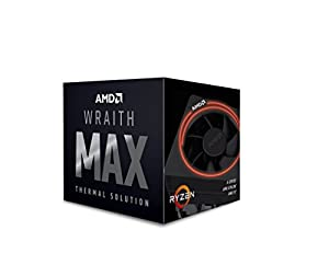 AMD Wraith Max cooler, with RGB LED