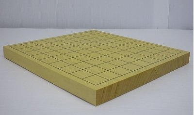[해외]새로운 榧 새로운 오카야마 탁상 1 촌 (10 호) 장기판 접합 특선 소나무 순위 상급 반/Shinsei New Ka-ya desk 1 Dimension (No. 10) Shogi board junction special selection pine rank high-class board