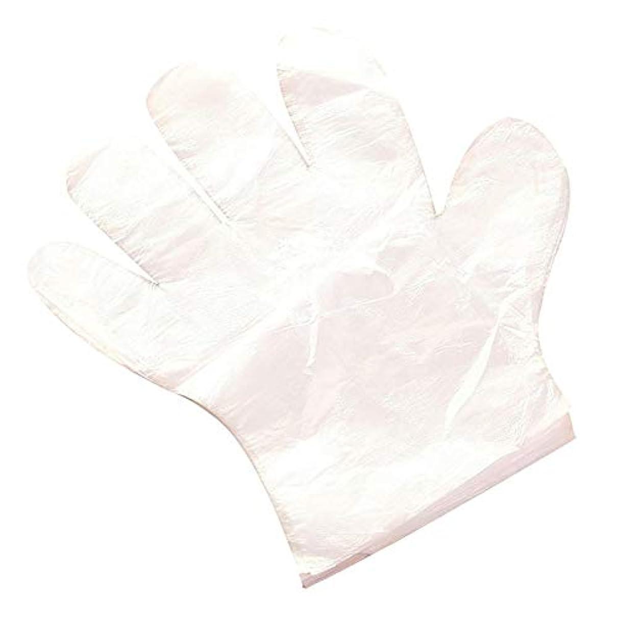 ボードキャスト会員Profeel 透明なプラスチック製使い捨て手袋レストランホームサービスケータリング衛生用品