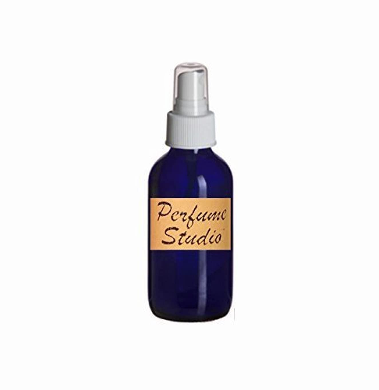 摂氏度りんごゲートEssential Oil Supplies: Cobalt Blue Boston Round Glass Bottle 4 Oz with White Atomizer. Perfect for Essential...