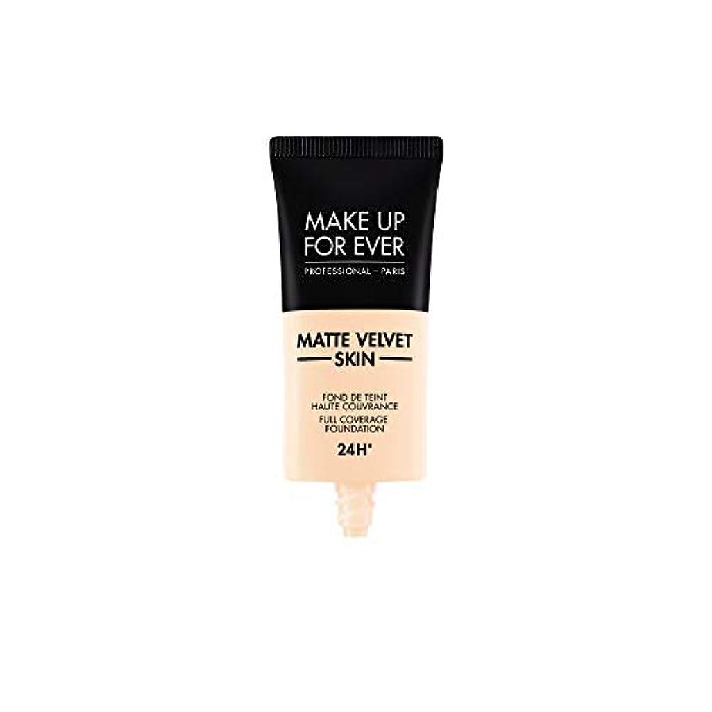 アミューズ原油ローマ人メイクアップフォーエバー Matte Velvet Skin Full Coverage Foundation - # R210 (Pink Alabaster) 30ml/1oz並行輸入品