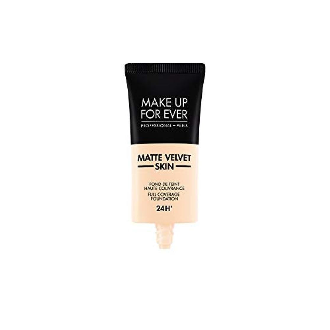 震えるいつ起きるメイクアップフォーエバー Matte Velvet Skin Full Coverage Foundation - # R210 (Pink Alabaster) 30ml/1oz並行輸入品