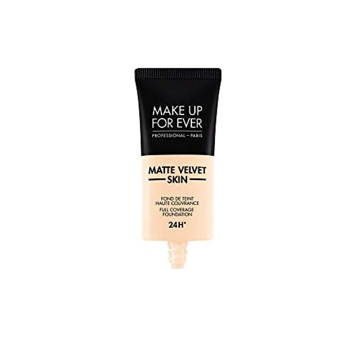 苦痛品戦術メイクアップフォーエバー Matte Velvet Skin Full Coverage Foundation - # R210 (Pink Alabaster) 30ml/1oz並行輸入品
