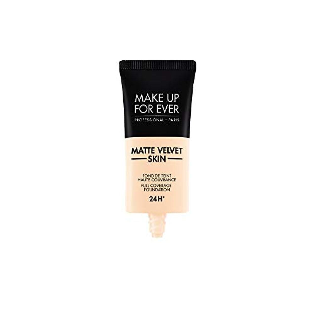 楽しい居間誘惑メイクアップフォーエバー Matte Velvet Skin Full Coverage Foundation - # R210 (Pink Alabaster) 30ml/1oz並行輸入品