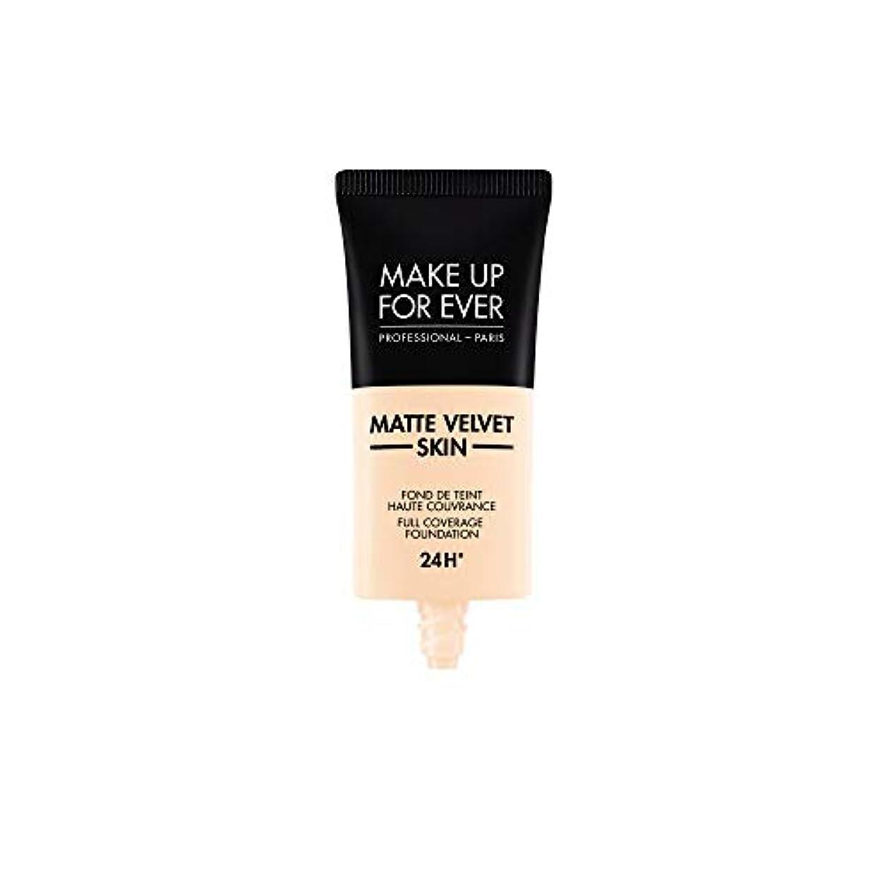 移行丁寧代名詞メイクアップフォーエバー Matte Velvet Skin Full Coverage Foundation - # R210 (Pink Alabaster) 30ml/1oz並行輸入品