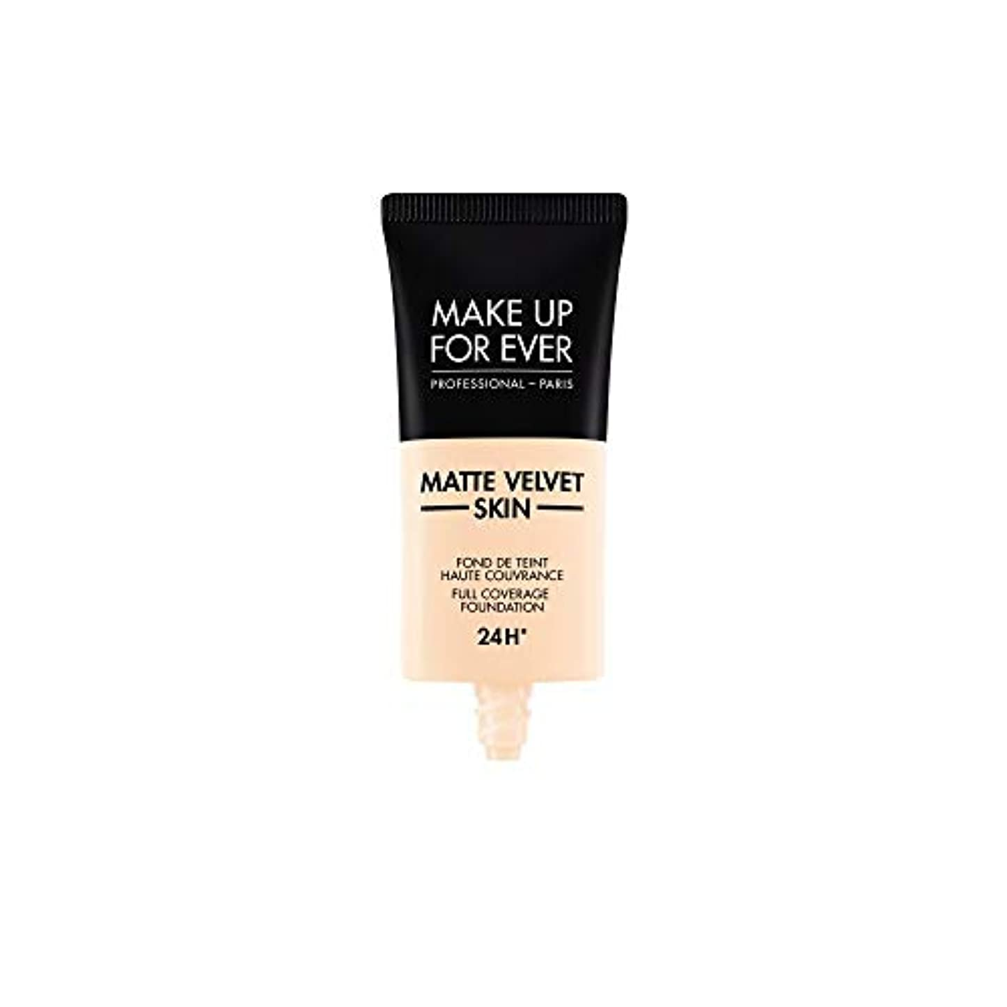 データ誤解する画家メイクアップフォーエバー Matte Velvet Skin Full Coverage Foundation - # R210 (Pink Alabaster) 30ml/1oz並行輸入品