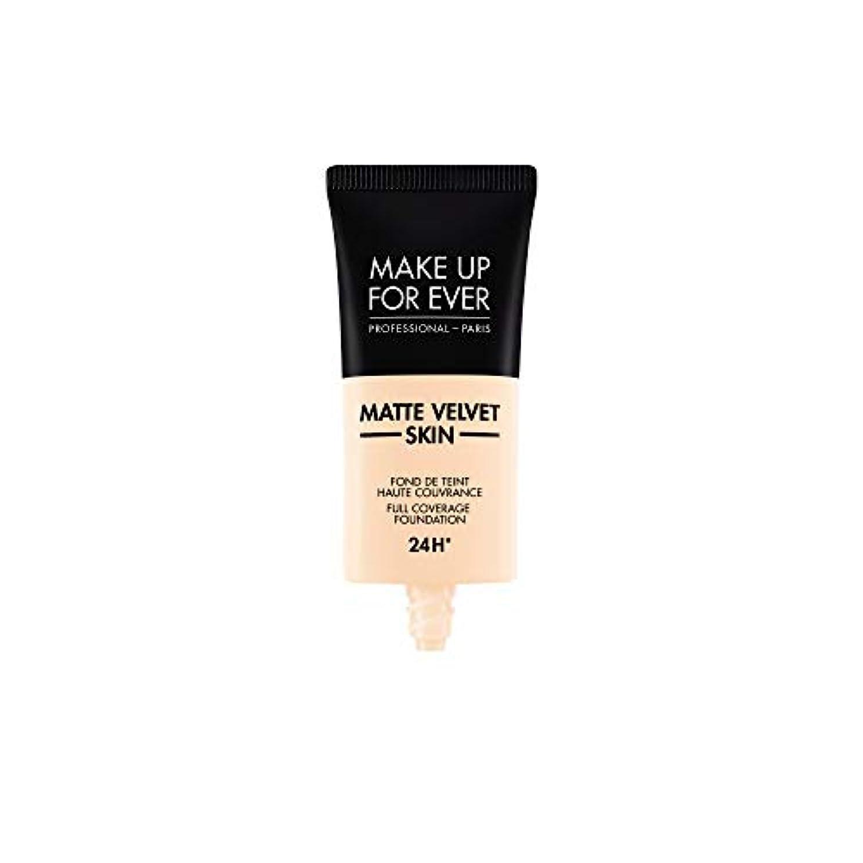 幸福宿泊静的メイクアップフォーエバー Matte Velvet Skin Full Coverage Foundation - # R210 (Pink Alabaster) 30ml/1oz並行輸入品