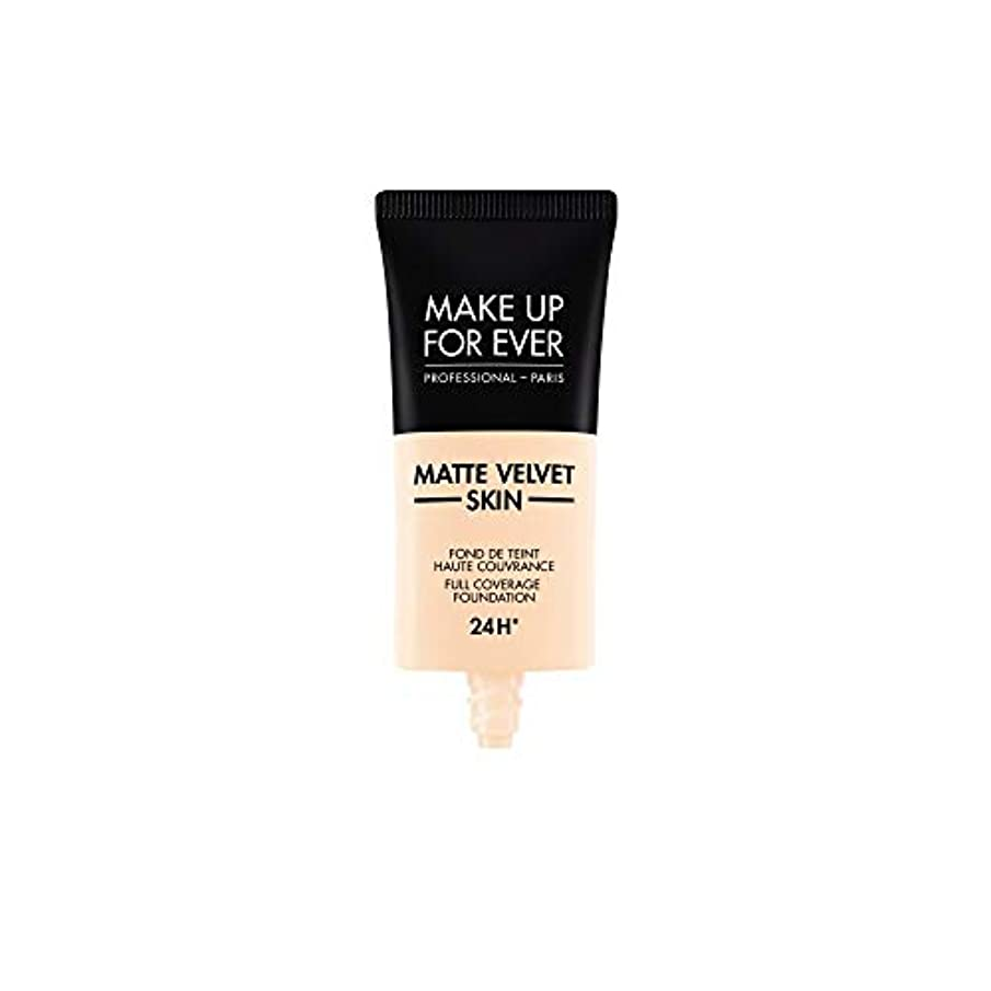 ケイ素動機付ける指メイクアップフォーエバー Matte Velvet Skin Full Coverage Foundation - # R210 (Pink Alabaster) 30ml/1oz並行輸入品