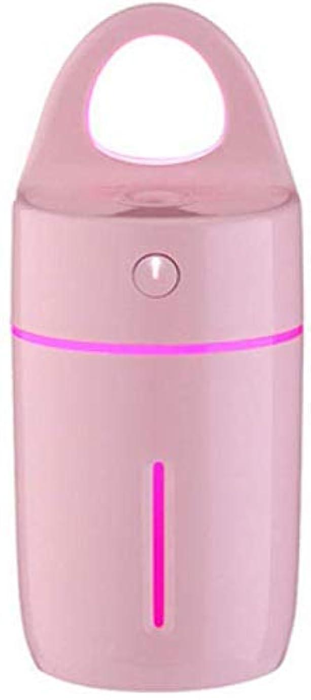 複雑なオーバードローアラブSOTCE アロマディフューザー加湿器超音波霧化技術満足のいく解決策美しい装飾品質の製品ライト (Color : Pink)