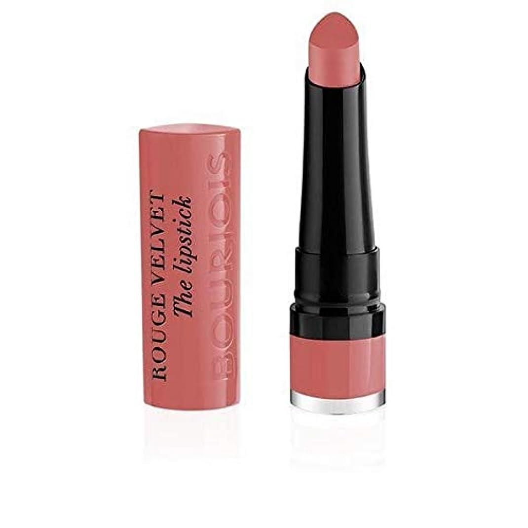 [Bourjois ] ブルジョワルージュのベルベットの口紅炎は2ローズ - Bourjois Rouge Velvet Lipstick Flaming Rose 2 [並行輸入品]
