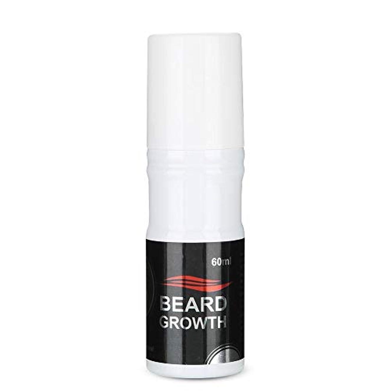 寛解おとなしいブロックするSemme 60ml男性のひげの成長のスプレー、より厚いのための自然で加速するひげの成長オイルの顔の毛の成長Lequidおよびより完全なひげ