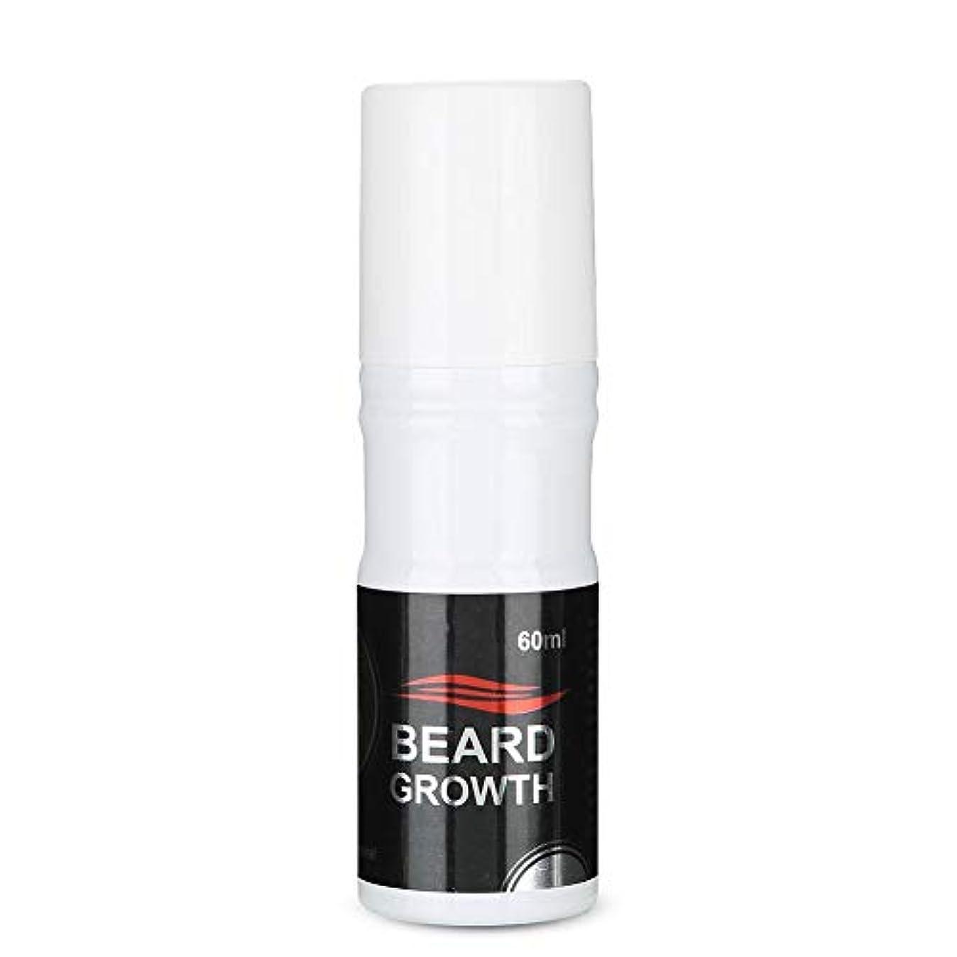 敵対的ホーン見せますSemme 60ml男性のひげの成長のスプレー、より厚いのための自然で加速するひげの成長オイルの顔の毛の成長Lequidおよびより完全なひげ