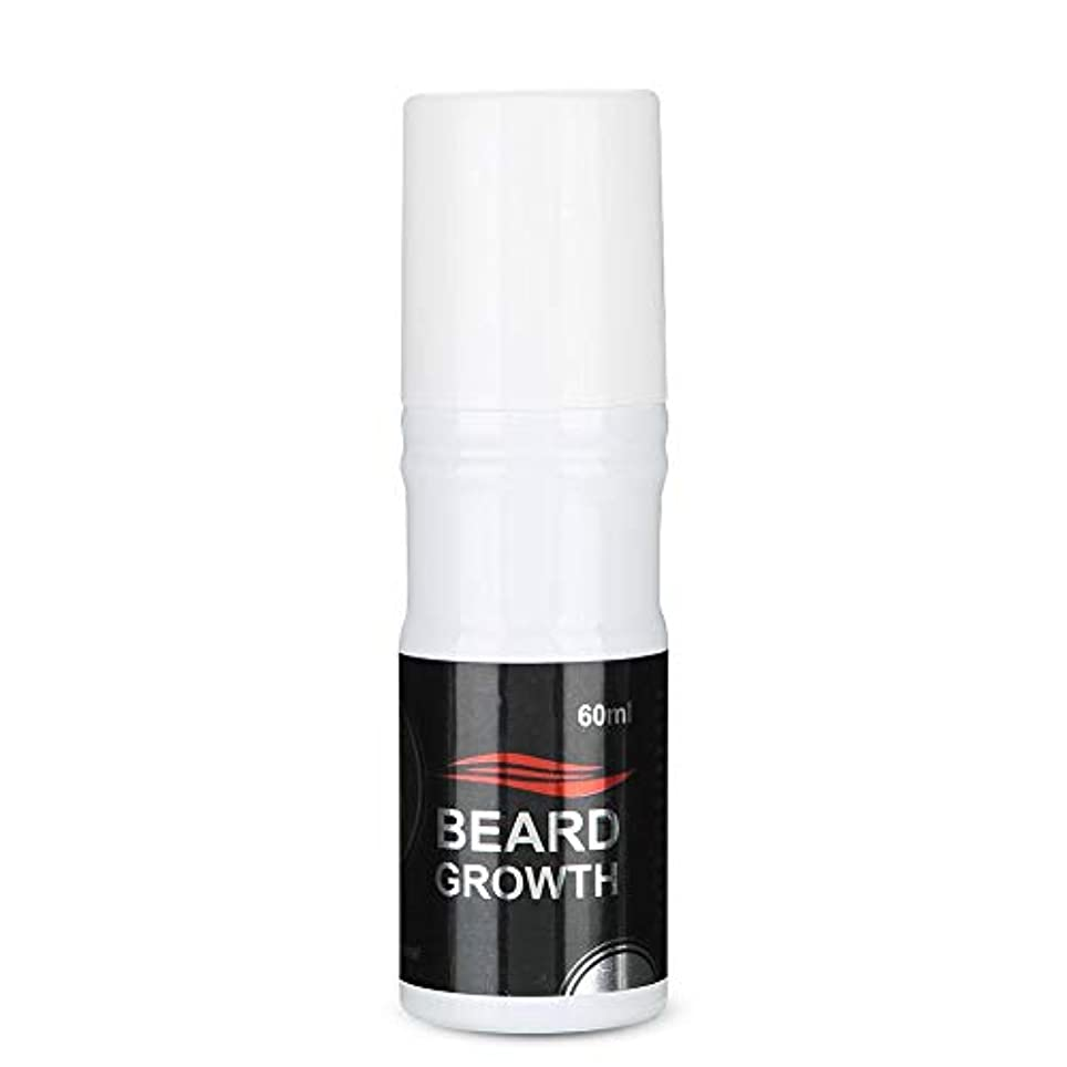彼らの実行可能ハッピーSemme 60ml男性のひげの成長のスプレー、より厚いのための自然で加速するひげの成長オイルの顔の毛の成長Lequidおよびより完全なひげ
