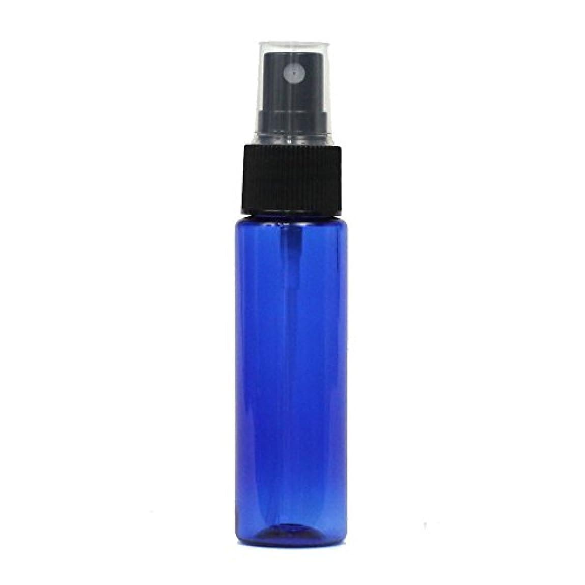ヘロイン持つ告発スプレーボトル 30mL ブルー 3本セット 空容器 おしゃれアトマイザー