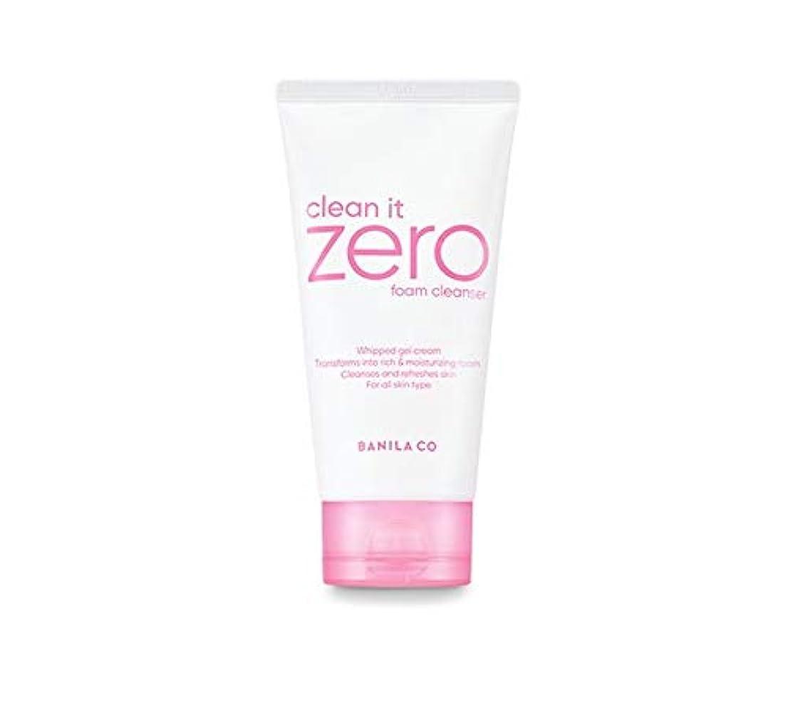規則性利用可能指紋banilaco クリーンイットゼロフォームクレンザー/Clean It Zero Foam Cleanser 150ml [並行輸入品]