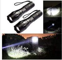 ルーメンLED懐中電灯ハンドトーチズーム可能なXML T6ハイキングキャンプライト、バッテリーなし (50000Lm Lumens LED Flashlight Hand Torch Zoomable XML T6 Hiking Camping Light Without Battery 50000Lm)