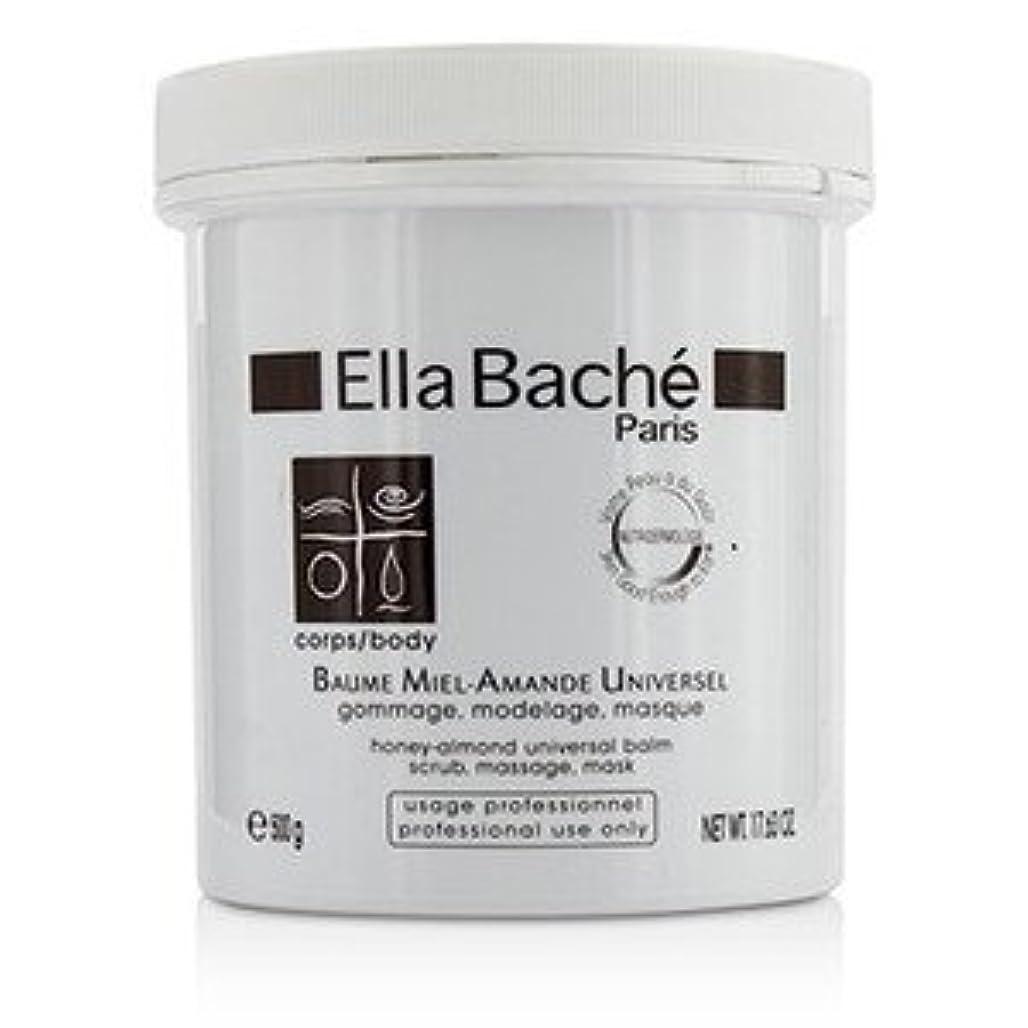 きょうだい耐えられないバッジエラバシェ[Ella Bache] ハニー アーモンド ユニバーサル バーム(サロン専用品) 500g/17.63oz [並行輸入品]