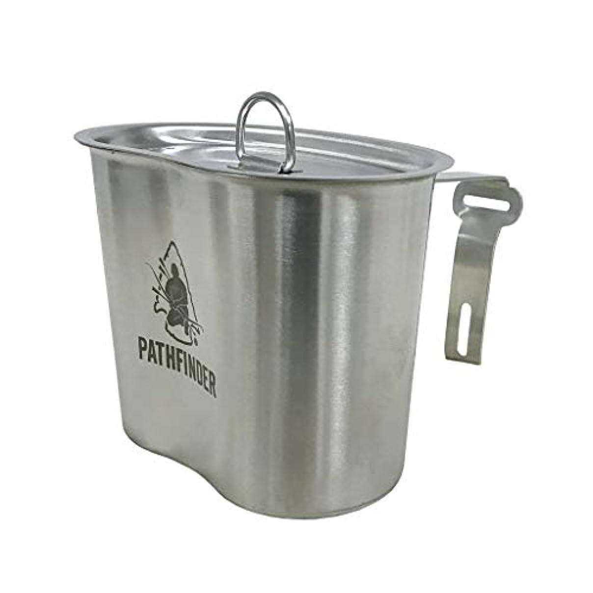 マイクロ積極的にクラブPATHFINDER (パスファインダー) Canteen Cup & Lid Set キャンティーン カップ&リッド // サバイバル ブッシュクラフト アウトドア キャンプ 野営