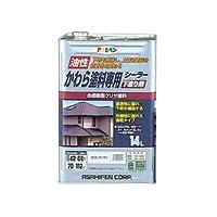 アサヒペン AP かわら塗料専用シーラー 14L 透明(クリヤ) ds-1828835