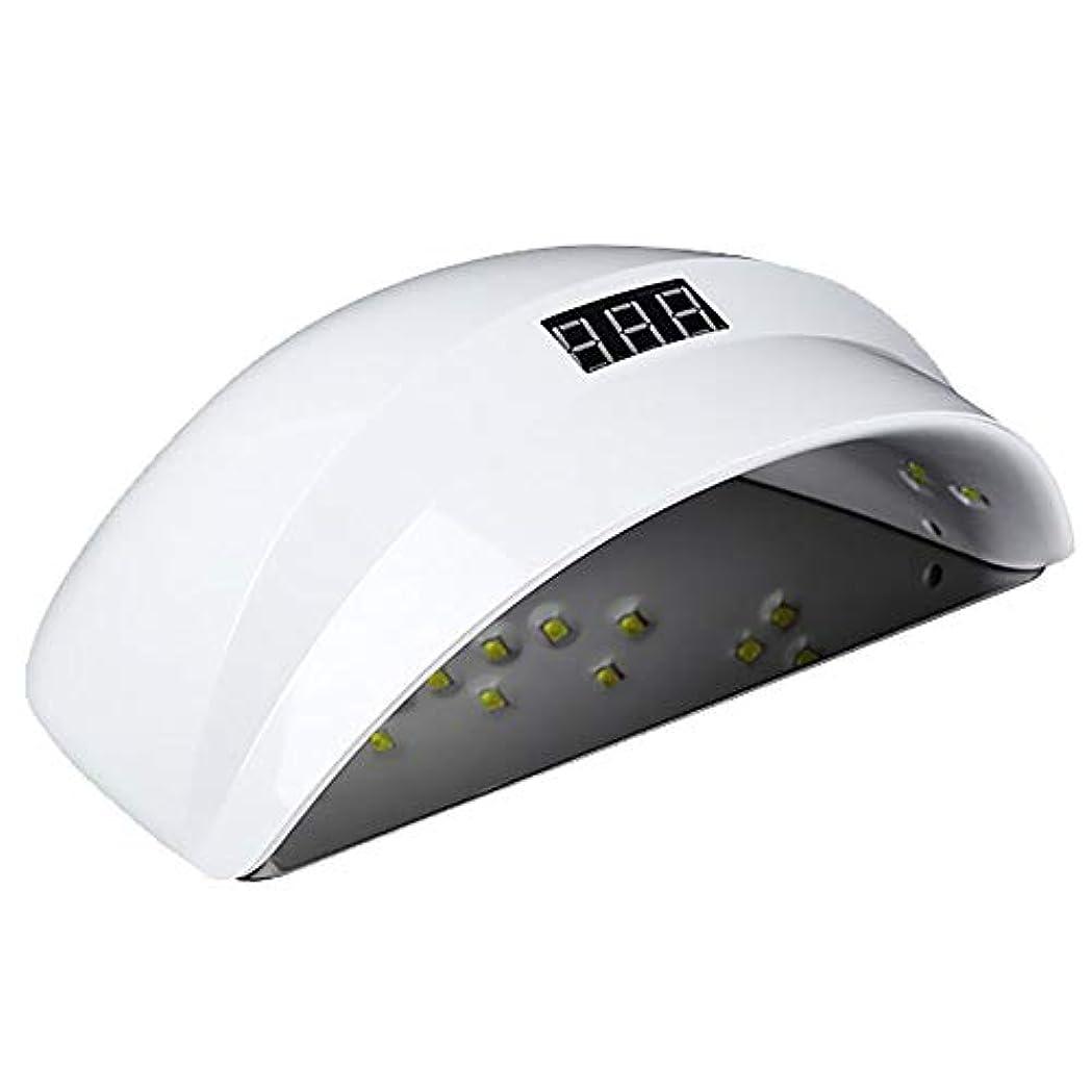 名誉ゴルフ著名な釘のドライヤー - 自動赤外線センサー、二重光源のLEDランプのゲルのドライヤーのマニキュアが付いている紫外線携帯用LEDの釘ランプ