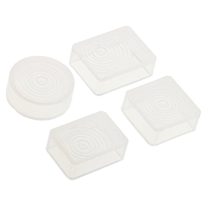 Fityle 樹脂製 DIY金型 ジュエリー シリコーン 工芸ツール 部分 手作り ギフト 4個