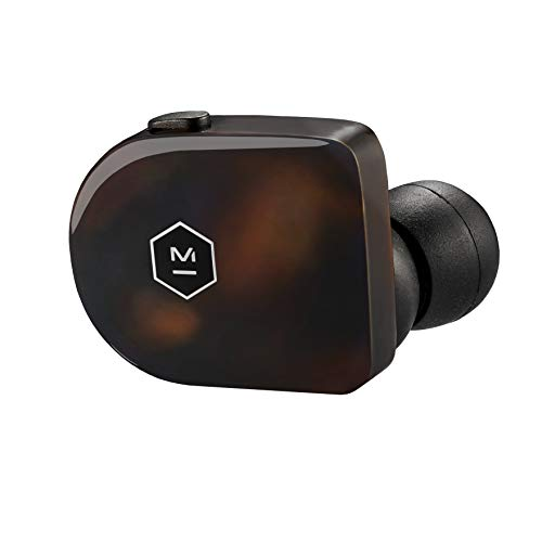 Master & Dynamic 完全ワイヤレスイヤホン MW07 高音質/AAC, Apt-X対応/Bluetooth対応/防滴トータスシェル 【国内正規品/保証2年】