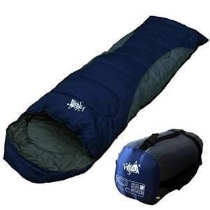 丸洗いOK White Seek 寝袋 シュラフ 封筒型 耐寒温度 -5℃ コンパクト収納 オールシーズン