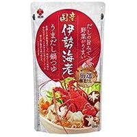 盛田 国産伊勢海老うまだし鍋つゆ 600gパウチ×12袋入×(2ケース)
