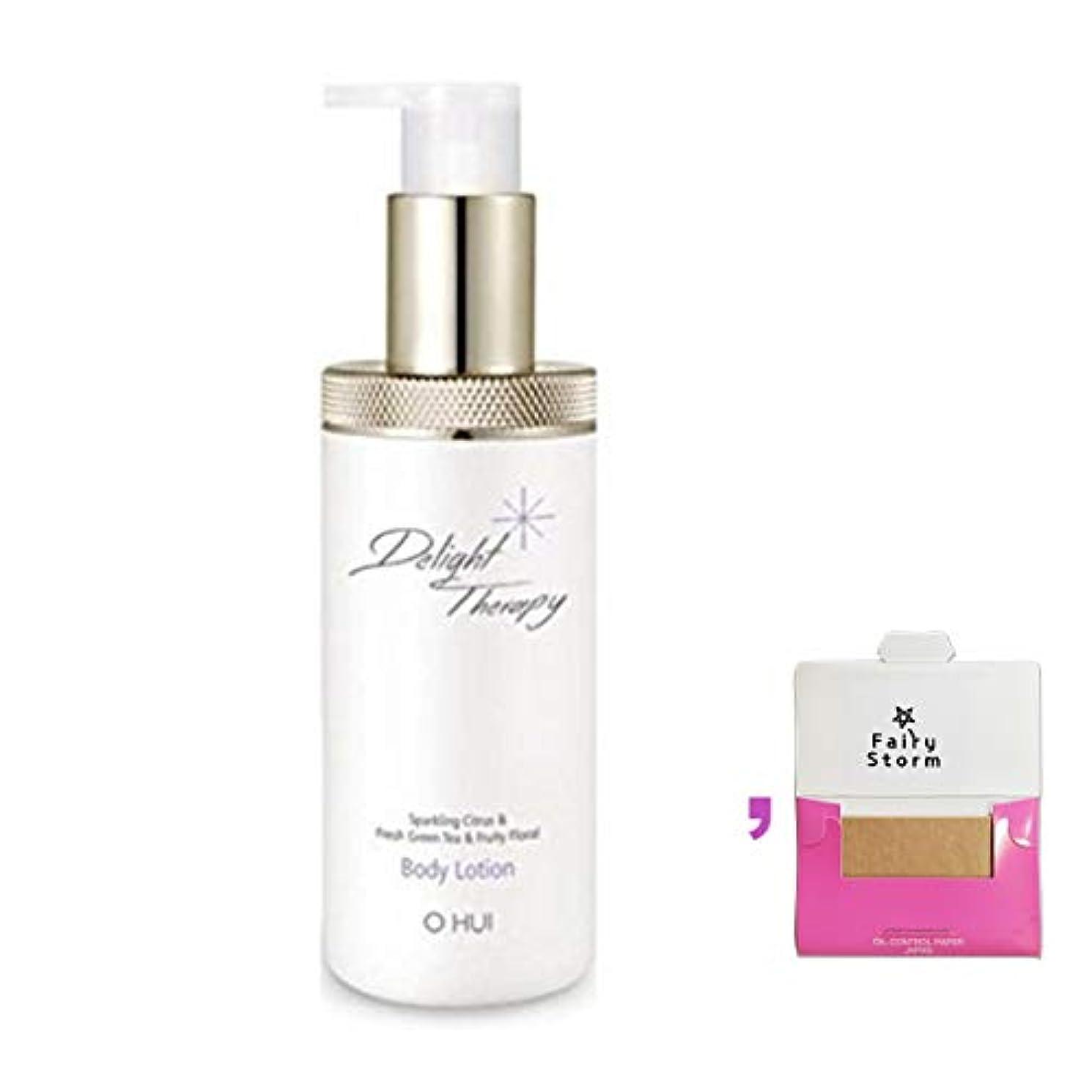 トピック光の排除する[オフィ/ O HUI]韓国化粧品 LG生活健康/Ohui Delight Therapy Body Lotion 300ml - 海藻成分が含有されてしっとりとしたボディを完成してくれるリラックスボディローション+[Sample Gift](海外直送品)