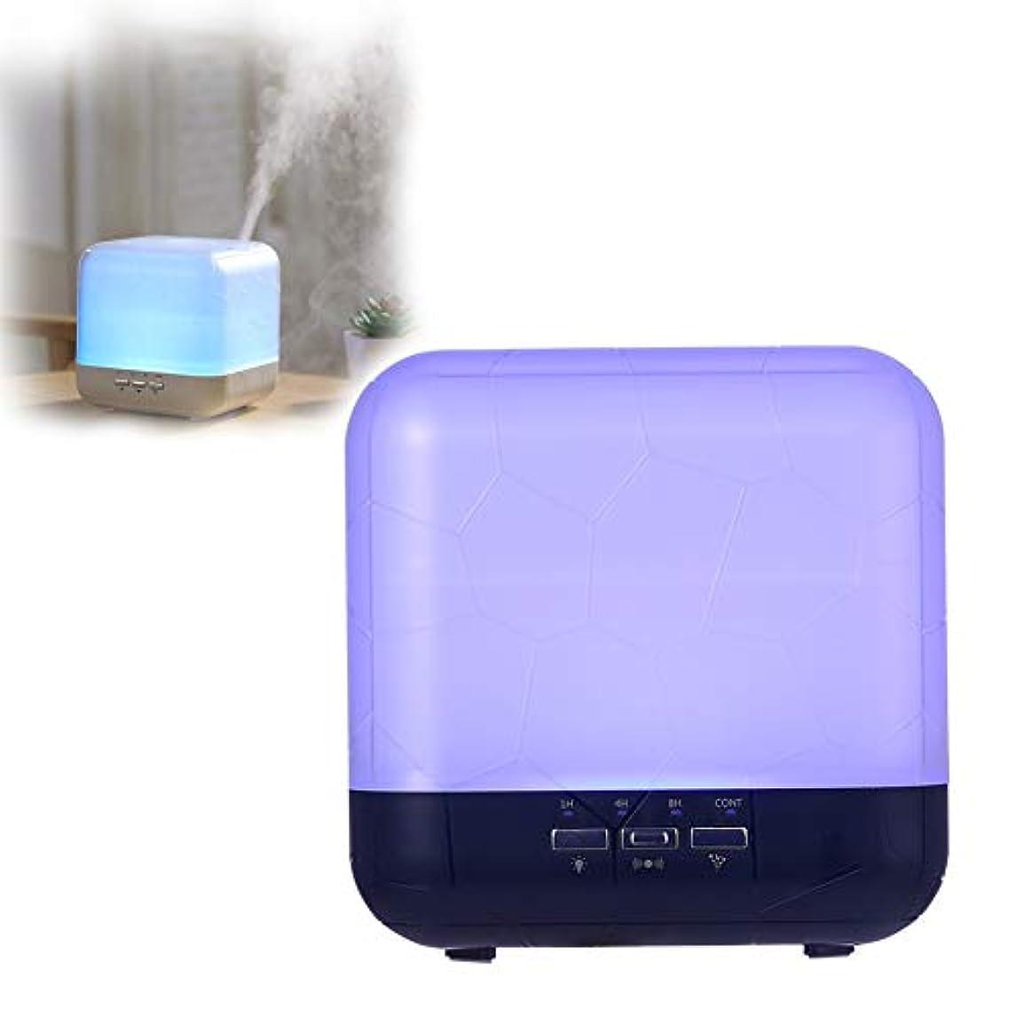 スタンドペッカディロ亜熱帯エッセンシャルオイルディフューザー、1000mlアロマテラピーアロマディフューザー、寝室用アクセサリーのための7色LEDナイトライト、4種類のタイマークールミスト加湿器,Black