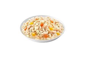 シーザー パウチ シニア犬用 14歳からの 蒸しささみ 野菜入り 70g×16個 (まとめ買い) [ドッグフード・ウェット]