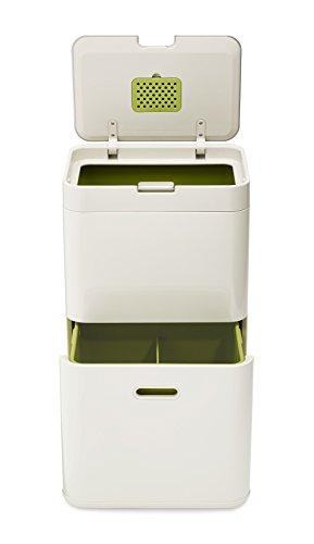 トーテム ゴミ箱 24L×2 ストーン