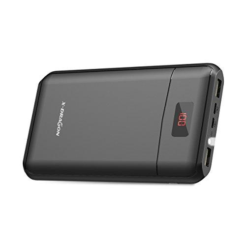 モバイルバッテリー 大容量 X-DRAGON 13000mA...