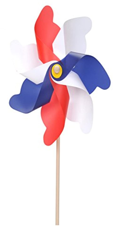 Patriotic Flag Yard Spinner