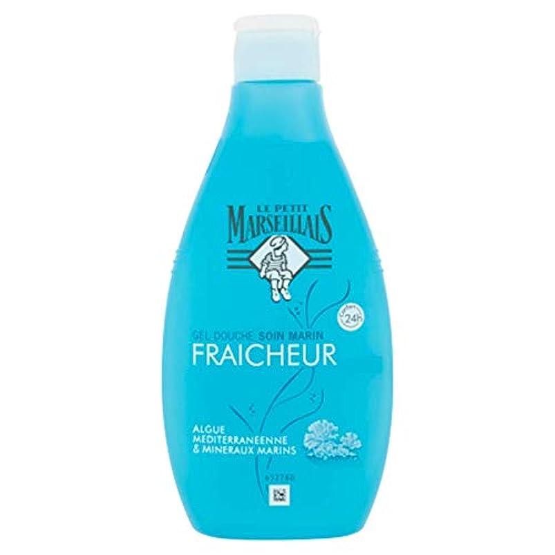 ワイドマントル裕福なル?プティ?マルセイユ(Le Petit Marseillais) 海藻と地中海ミネラル ケア シャワージェル ボディウォッシュ 250ml