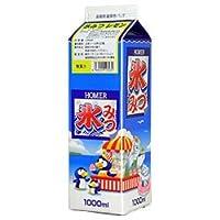 ホーマー 氷みつレモン 1000ml紙パック×12本入×(2ケース)