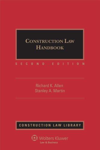 Download Construction Law Handbook 0735574464