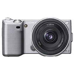 ソニー デジタル一眼レフα NEX-5 薄型広角レンズキット シルバー NEX-5A/S