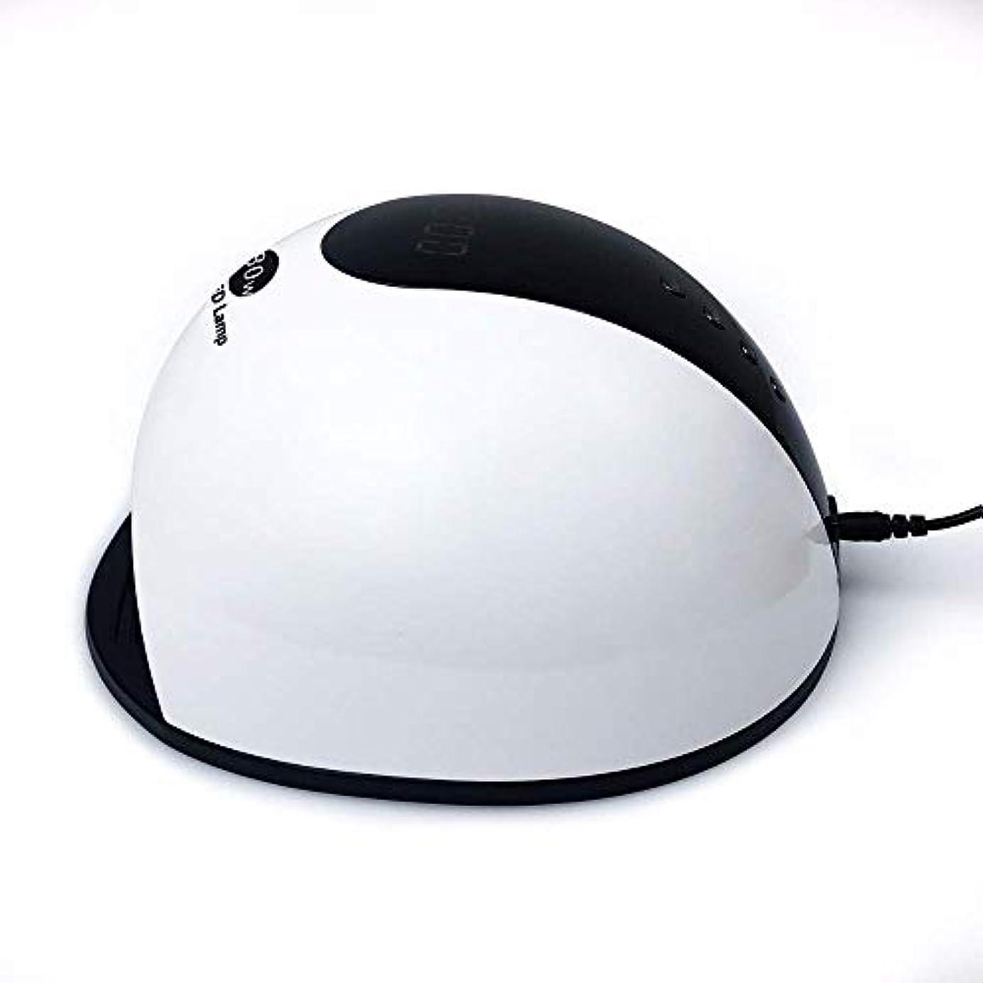 ヒゲクジラ大騒ぎ断言するネイルドライヤー80W UV LEDジェルランプマニキュア用ジェルポリッシュアイスランプ(36個のLED付き)ドライヤーランプスマートLCDディスプレイネイルマシン、写真の色