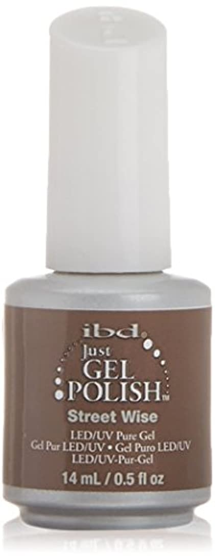 オリエント汗職業ibd Just Gel Nail Polish - Street Wise - 14ml / 0.5oz