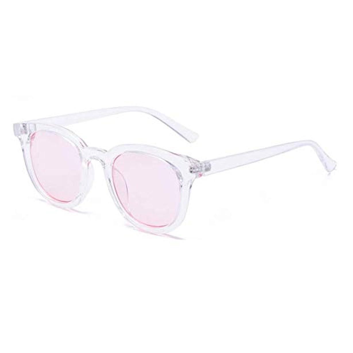 甘美な器用ラテンヴィンテージサングラス、レディースメンズマルチカラースクエアアセテートなサングラス、ピンク